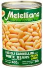 Metelliana – Bílé fazole Cannellini 400 g